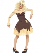 Goodkoop Voodoo Doll Dames Halloween Kostuum