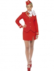 Trolley Dolly Stewardess Britney Spears Verkleedkleding