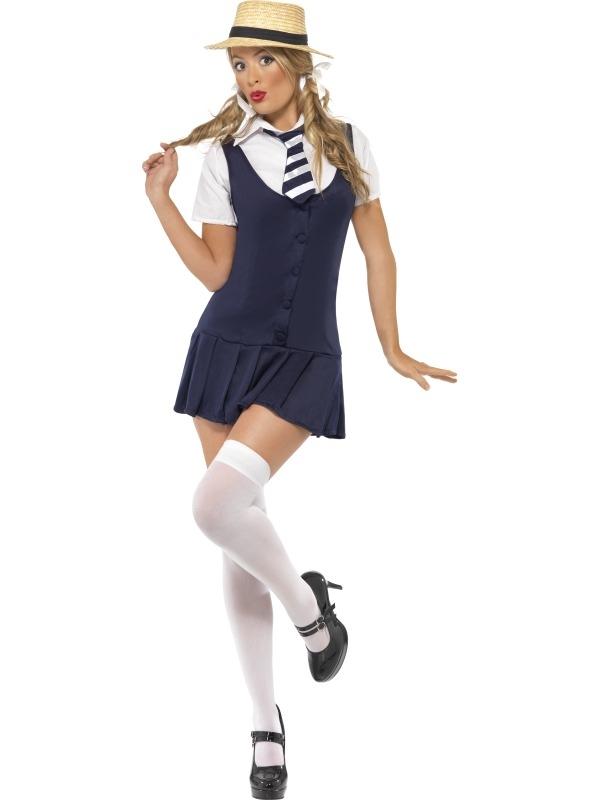 Stout schoolmeisje