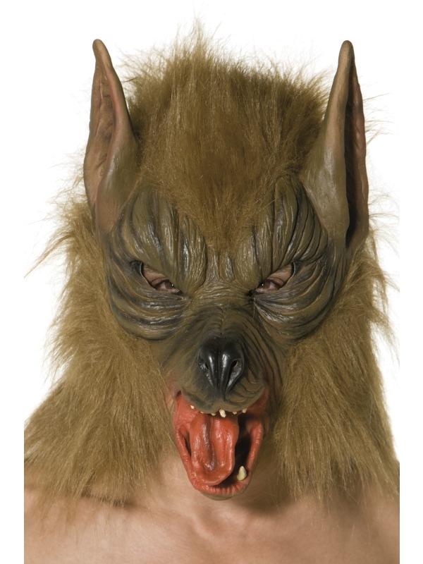 Kleurplaten Enge Maskers.Aanbieding Bruin Weerwolf Halloween Masker Tot 50 Korting