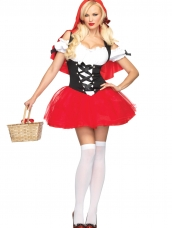 Aanbieding Racy Red Riding Hood Kostuum