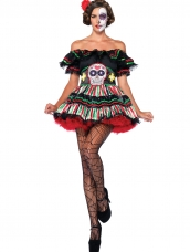Aanbieding Kostuum Day of the Dead Leg Avenue