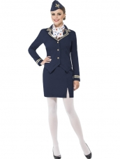 Stewardess Airways Attendent Kostuum
