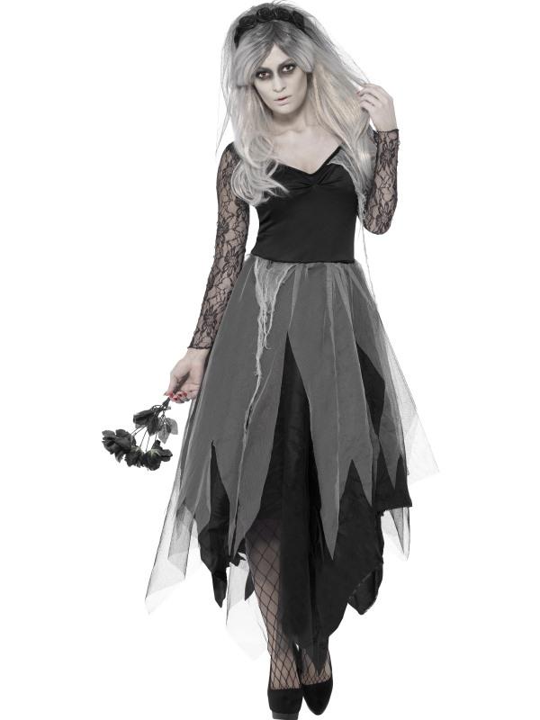 Halloween Kostuum Nl.Aanbieding Graveyard Bride Halloween Kostuum