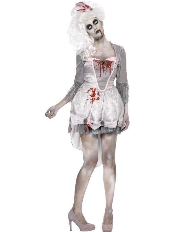 Halloween Kleding Maken.Goedkope Zombie Georgian Halloween Kostuum