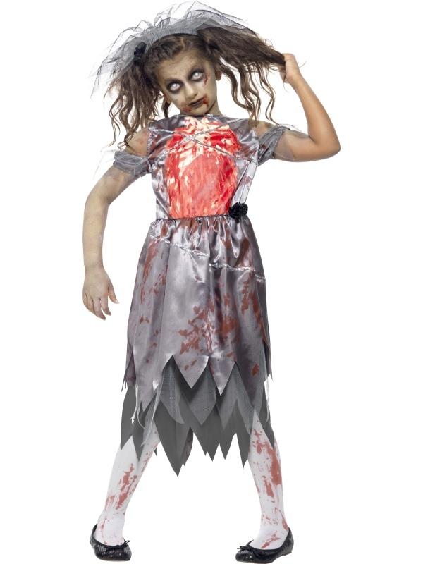 Halloween Kostuum Nl.Goedkoop Zombie Bride Halloween Kostuum