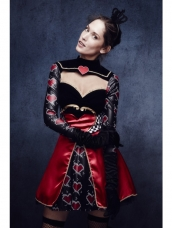 Aanbieding Fever Queen Of Hearts Kostuum