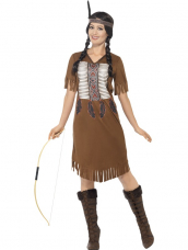 Native American Inspired Warrior Indiaan Dames Kostuum