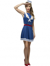 Fever Hey Sailor Dames Kostuum