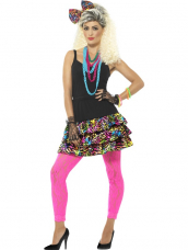 Jaren 80 Party Girl Set Disco