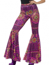 Psychedelic Flared Trousers