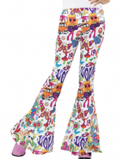Groovy Flared Dames Trousers