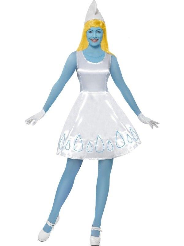 Halloween Sprookjes Kostuum.Smurfin Compleet Sprookjes Kostuum