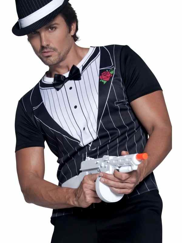 Aanbieding Fever Gangster Heren T shirt