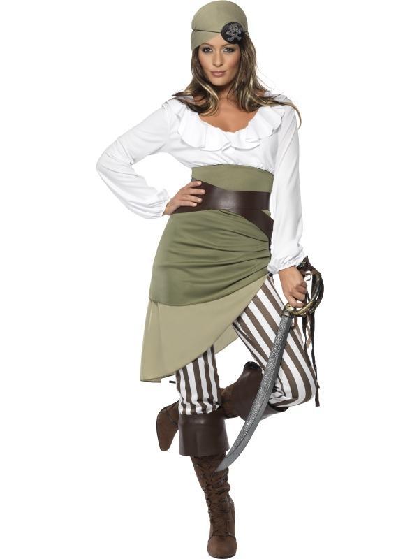 Carnavalskleding Dames Goedkoop.Goedkoop Shipmate Sweetie Piraat Dames Kostuum Tot 50 Korting