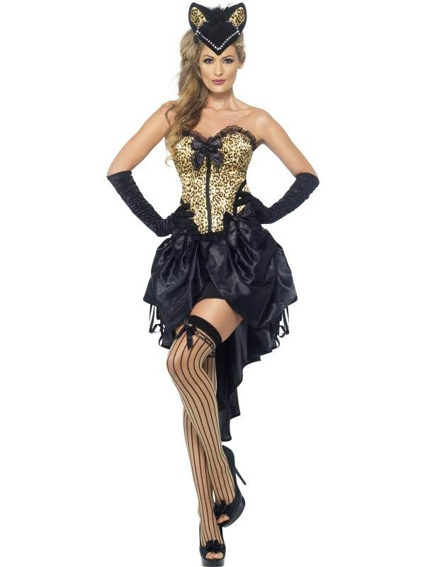 Kostuums Dames.Goedkoop Burlesque Kitty Dames Sexy Kostuum
