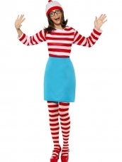 Aanbieding Where's Wally? Wenda Verkleedkleding