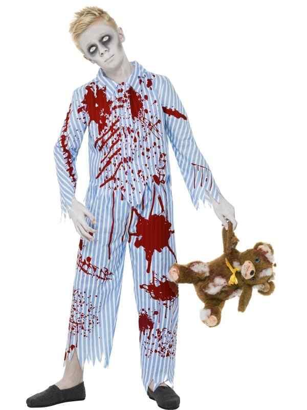 Halloween Verkleedkleding Kind.Zombie Pyjama Boy Jongens Halloween Verkleedkleding