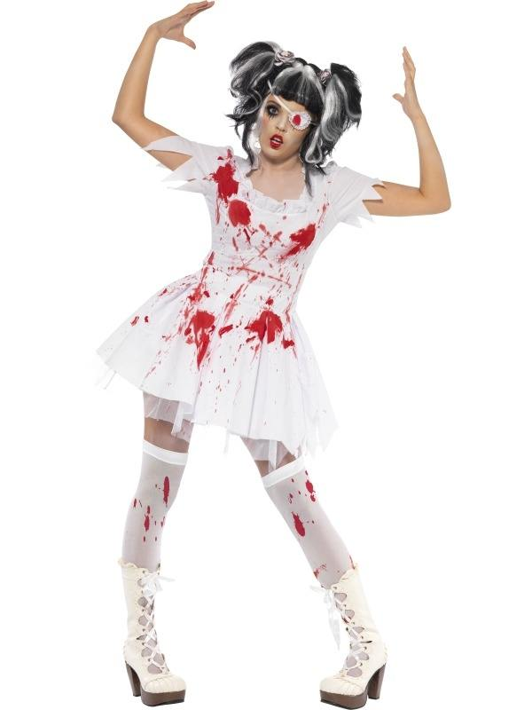 Halloween Kleding Dames.Aanbieding Horror Dolita Pop Halloween Dames Kostuum